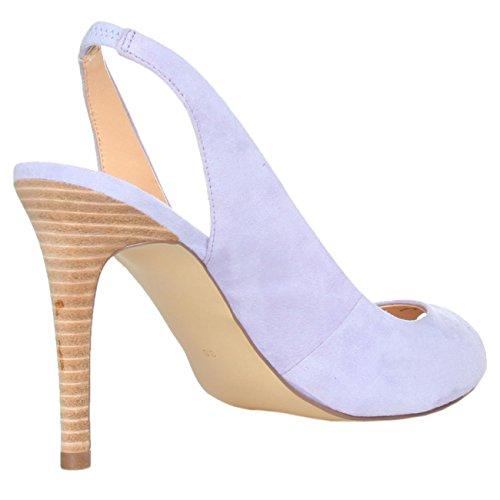 EU Sandales UK pour Guess Orchi femme 7 Violet 41 Flieder 4qpx0F