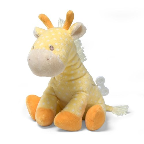 Gund Lolly Musical Giraffe Waggie Keywind 8″ Plush, Baby & Kids Zone