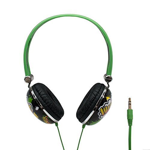 iHip WARHEADS Candy Stereo Noise Isolating Headphones for Apple Android Compatible Gifts for Kids Teens Headphones for Boys and Girls Fun and Collectible -