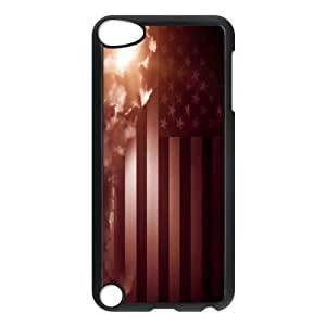 American Flag, Bold Vivid Color Design Snap-on Cover Hard Carrying Case FOR Ipod Touch 5 AKG287074