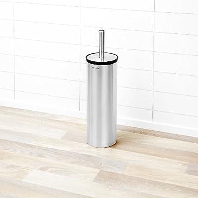 Brabantia Toilet Brush and Holder - Matt Steel