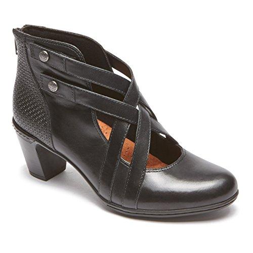 Black Rockport Rashel Chaussures Xstrap femmes pour Lthr Ch gwBOwRqf