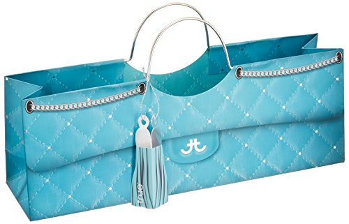 Cakewalk Turquoise Quilted Wine Purse