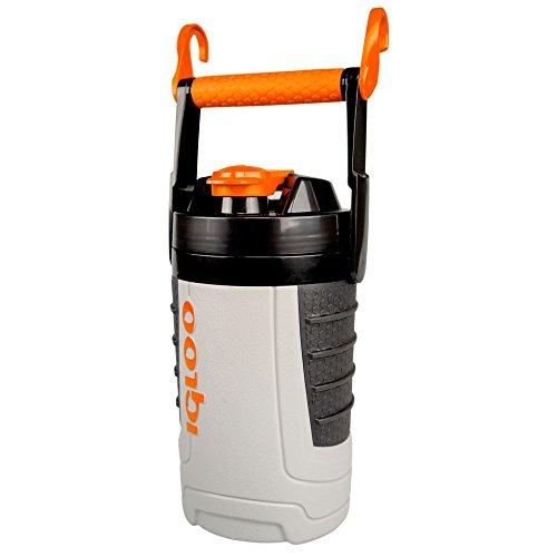 - Igloo Proformance 1 Quart Sport Jug-Ash Tough Orange, Gray