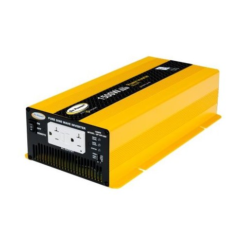 Go Power GP-HS1500 1500 Watt Pure Sine Wave Inverter 12V