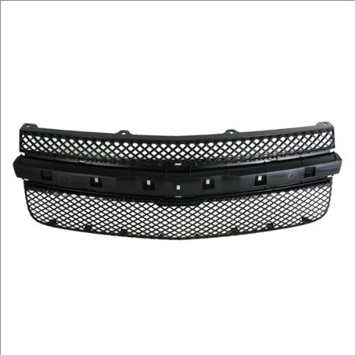 CarPartsDepot, Front Grille Grill Assembly New Mesh Screen Black Body w/o Center Molding, 400-15464 GM1200527 5481230?