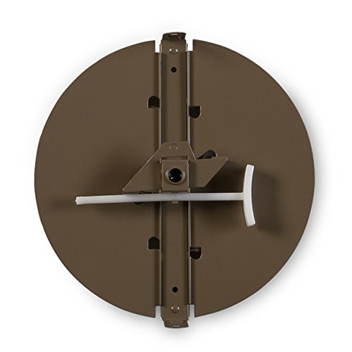 (Accord Ventilation 34312BR 12-Inch Round Butterfly Ceiling Damper 12 inch Non-Insulated)