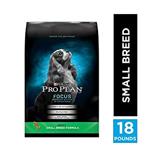 Purina Pro Plan Small & Toy Breed Formula Adult Dry Dog Food