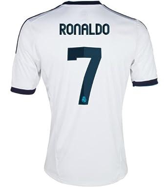 promo code d0774 93bda Amazon.com: Ronaldo jersey - Real Madrid Home 2012-2013 (L ...