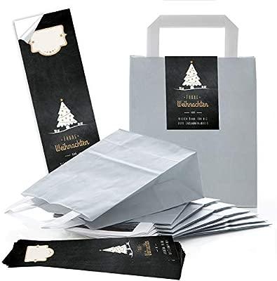 Papel de estraza 100 claro gris natural Bolsa de papel de ...