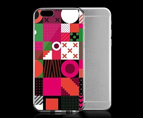 light-weight-with-strong-pc-plastic-case-for-iphone-6-patterns-geometric-graffik-blocks-watermelon