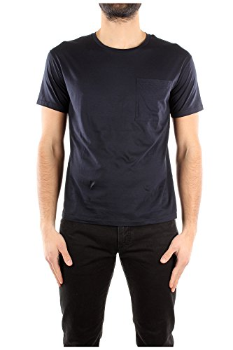 Valentino Camiseta Manga Corta Hombre Algodón Azul KV0MG03C381598 Azul M