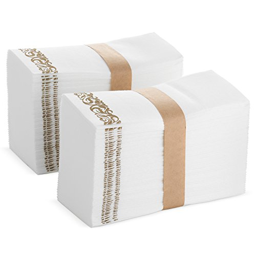 Bloomingoods disposable hand towels decorative bathroom - Disposable guest towels for bathroom ...