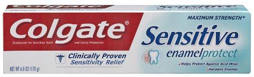 Colgate Sensitive Enamel Protect Toothpaste, 6.0-Ounce...
