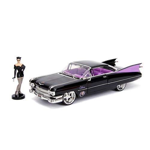 hells - '59 Cadillac diecast Vehicle W/ Cat Woman Figure ()