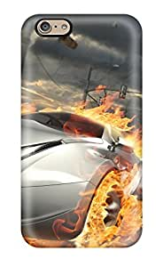 New XoDAPpr4952vTebL Destructive Car Race Tpu Cover Case For Iphone 6