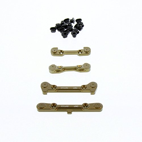 Team Losi 8IGHT-E 4.0 Buggy 1/8: Front & Rear Hinge Pin Braces/Mounts, Inserts