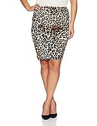 Star Vixen Womens Plus-Size Plus-Size Knee Length Classic Stretch Pencil Skirt