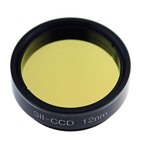 1.25 Inch Telescope S-II CCD 12nm Filter for Observations of Deep-Sky Objects- The Orion, Lagoon, Swan and Other Extended Nebulae ()