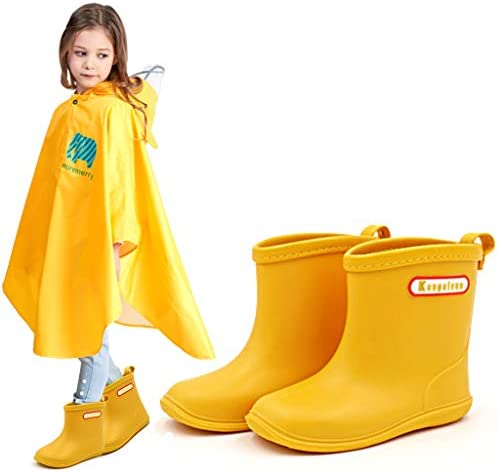 Regenlaarzen voor Kinderen, Zacht en Duurzaam PVC