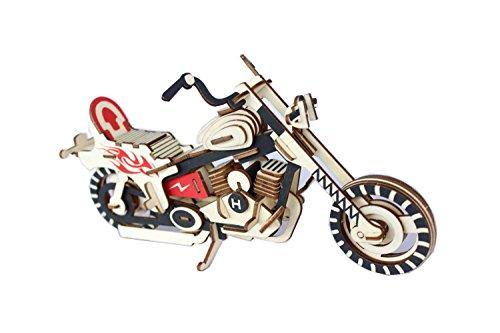 [해외]Libosun 3D Wooden Puzzle - Motorbike / Libosun 3D Wooden Puzzle - Motorbike