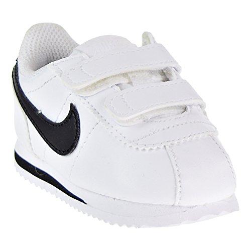 Basic Cortez Sl Mixte black 19 Chaussons Eu Nike tdv 5 white Blanc Bébé 102 5dqxEX