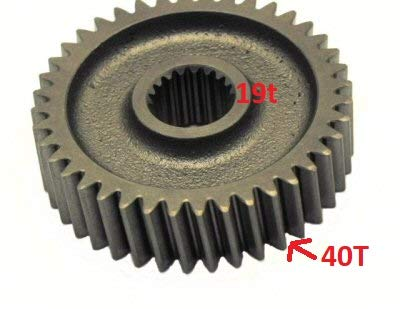 (Zoopbuy 19T 40T Final Drive Gear for GY6 125cc 150cc Scooter Moped ATV)