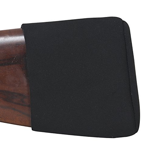 Tourbon Neoprene Shotgun Recoil Reduction Adjustable Slip On Recoil Pad (Medium , Black) (Recoil Pads Shotguns)
