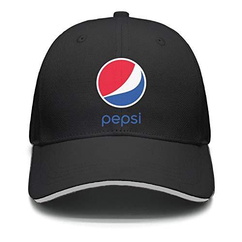 uter ewjrt Adjustable Pepsi-Logo- Visor Hats Classic New Cap