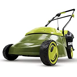 Sun Joe MJ401E 12 Amp Electric Lawn Mower 119 POWERFUL: 13-amp motor cuts a 14-inch wide path ADJUSTABLE DECK: Tailor cutting height with 3-position height control STEEL BLADES: Durable 14-Inch steel blade cuts with precision