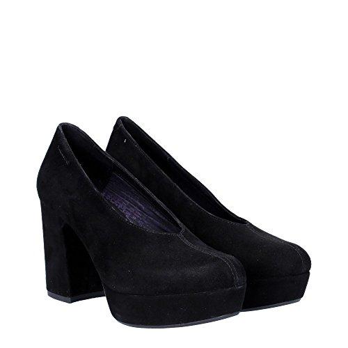 Vagabond - Zapatos de vestir de ante para mujer negro negro