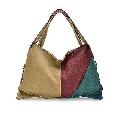 New Fashion Canvas Tote Bag Shopping Bag Women Shoulder Handbags Portable Versipacks