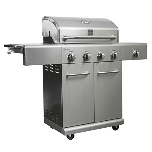 - KENMORE 4 Burner plus Side Burner SS Grill