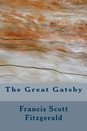 The Great Gatsby Fitzgerald, Francis Scott