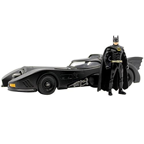 DC Comic's Batmobile Die Cast 1:24th Scale Vehicle w/ 3