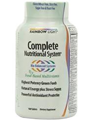 (好评)Rainbow Light Complete Nutritional纯天然完整配方综合维生素180粒SS后$23.98