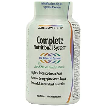 Amazon Com Rainbow Light Complete Nutritional System Food