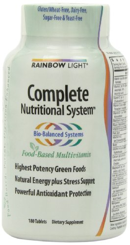 Rainbow Light Complete Nutritional System  Food Based  Tablets  180 tablets by Rainbow Light