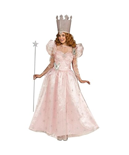 Rubie's Wizard of Oz Movie Glinda Good Witch Womens Halloween Costume deluxe ()