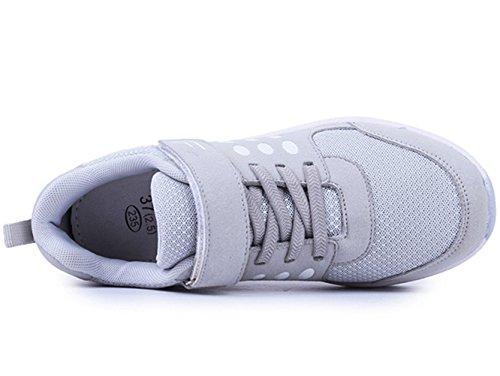 (ダダウン)DADAWEN ウォーキングシューズ レディース スニーカー 厚底靴 美脚 メッシュ 通気 歩くやすい 通勤 アウトドアシューズ