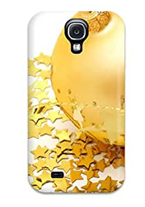 Tpu Case Cover Compatible For Galaxy S4/ Hot Case/ Christmas