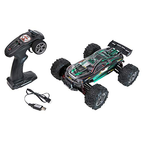 Sttech1 2.4Ghz RC Remote Control Car, 1/16 High Speed Remote Control RC Rock Crawler Racing Car Off Road Truck (Green) (Road Race Buggies Off)