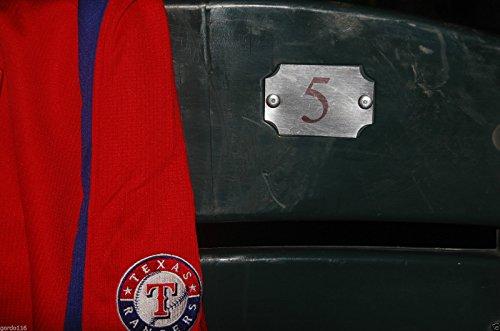 TEXAS RANGERS #5 Seatback Ian Kinsler BALLPARK ARLINGTON Stadium Chair Back