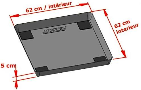 Mottez b512 V alfombra de retención de agua y anti-vibración para ...