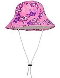 Tuga Girls Reversible Bucket Hats - UPF 50+ Sun...