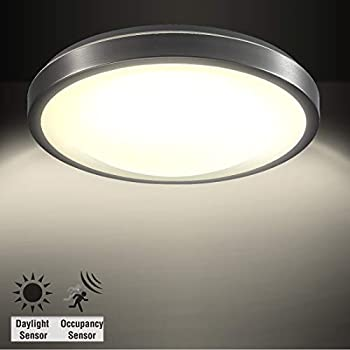 Amazon Com Corso 16 Quot Round Led Flush Mount Ceiling Light