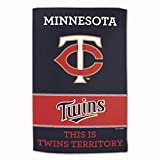 """Master Industries Minnesota Twins Sublimated Cotton Towel- 16"""" x 25"""""""