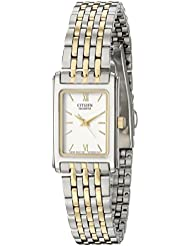 Citizen Womens Quartz Stainless Steel Watch, EJ5854-56A