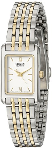 (Citizen Women's Quartz Stainless Steel Watch, EJ5854-56A)