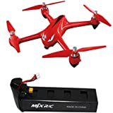 Leewa@ Durable 7.4V 1800mAh Capacity Lipo Battery for MJX Bugs 2C/2W RC Quadcopter (Black Battery)
